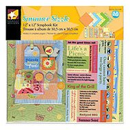 Summer Sizzle Scrapbook Kit // American Traditional Designs