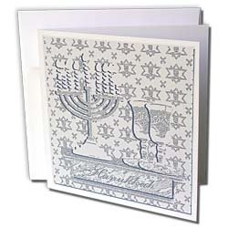 Beverly Turner Hanukkah Design - Menorah, Hanukkah,