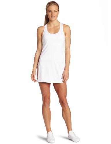 Asics Women's Love Dress, White/White, X-Small