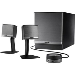 Bose Companion 3 Series II multimedia speaker system (Graphite/Silver)