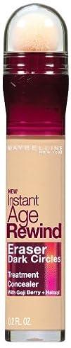 Maybelline New York Instant Age Rewind Eraser Dark Circles Treatment Concealer, Neutralizer 50,…