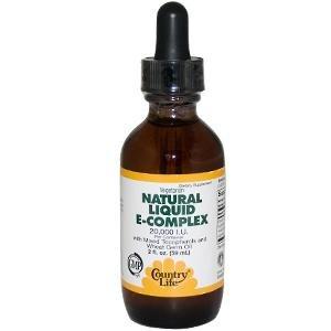 Country Life vitamine E Complex (liquide), 2-once