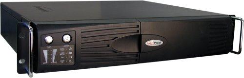 Cyberpower PR1500SWRM2U UPS - 1500VA 1000W PureSine AVR Boost Buck 6-Outlet RJ45 2U Rack Tower USB 2xSerialB00018Y0RU