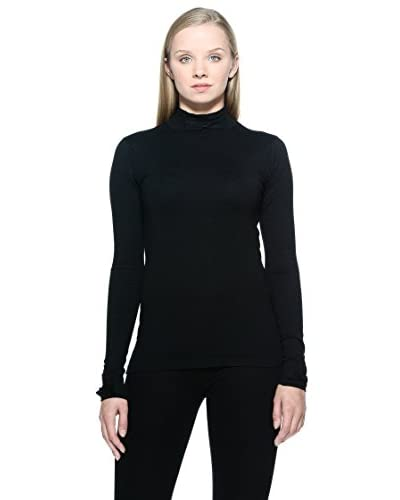 French Connection Jersey Stretch Negro