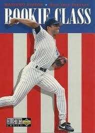 1995 96 upper deck ud collector 39 s choice mariano rivera rookie class new york yankees rookie. Black Bedroom Furniture Sets. Home Design Ideas