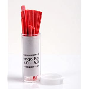 Congo Red pH Test Paper Indicator: Ph Test Strips: Amazon