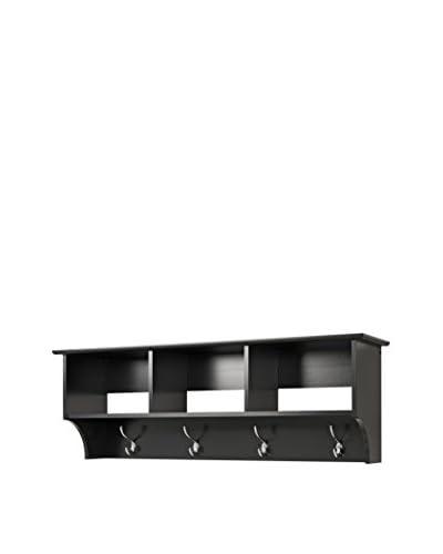 Prepac Entryway Shelf, Black