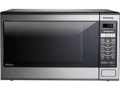 Panasonic Stainless Steel Microwave Oven, 1.2 Cubic Feet, 1200 Watts, Inverter Technology, Model Nn-Sa651S