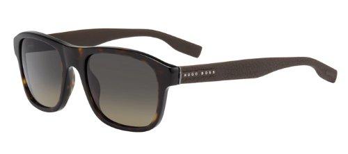 Hugo Boss Für Mann 0560 Sun Classic Tortoise / Brown / Grey-Green Gradient Kunststoffgestell Sonnenbrillen
