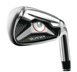 TaylorMade Burner 1.0 Iron Set (#4 thru PW, AW): Right, RE-AX SuperFast 65 Graphite (Stiff)