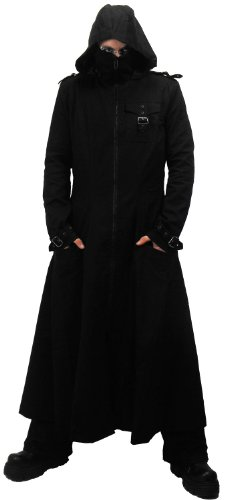 Buy Huntsman Black Hooded Leather Trench Coat For Men Made of Cowhide Leather. Free Shipping in USA, UK, Canada, Australia & Worldwide With Custom Made to Measure Option.5/5(2).