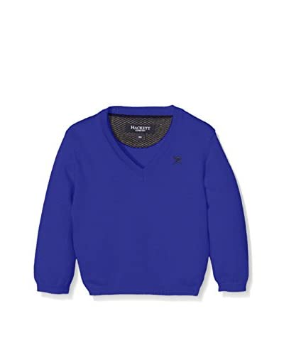 Hackett London Pullover Cott Cash V T [Blu Inchiostro]