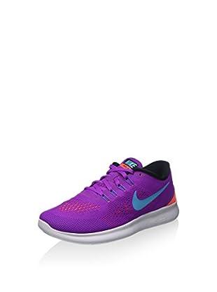 Nike Zapatillas Wmns Free Rn (Morado / Azul Claro)