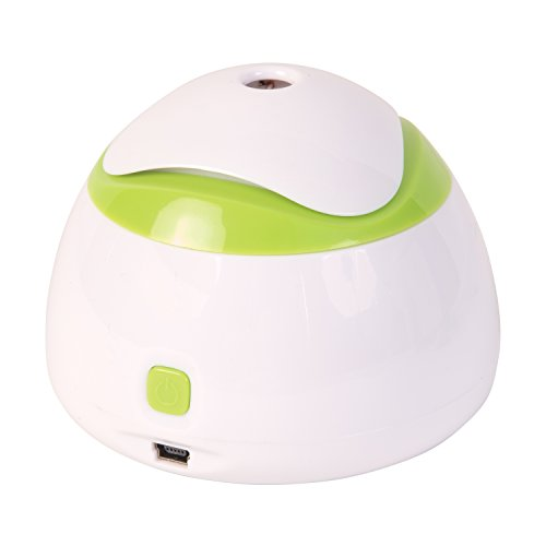 HealthSmart Travel Mate Personal Ultrasonic Cool Mist USB Humidifier, Quiet, Filter Free - 1
