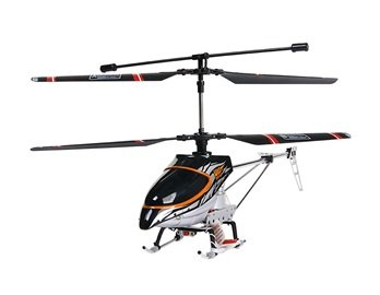 Lucky Boy 9938B 4-Channel R/C Radio Control Helicopter with Built-in Gyro (Yellow)