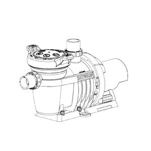Hayward northstar sp4000x pump models sp4007x10ns for Hayward sp2610x15 replacement motor