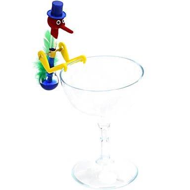 Mini Fancy Scientific Drinking Water Bird Perpetuum Bird With Cup front-625213