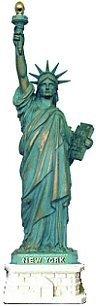 "Statue of Liberty Replica - 5.25"" Copper, Statue of Liberty Souvenirs, NY Souvenirs"