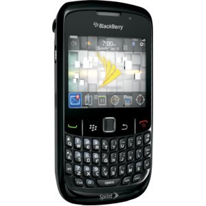 BLACK COLOR BLACKBERRY CURVE2 8530 FULLY FLASHED FOR CRICKET TALK/TEXT/WEB/MMS/GPS/MP3/EMAIL/QWERTY
