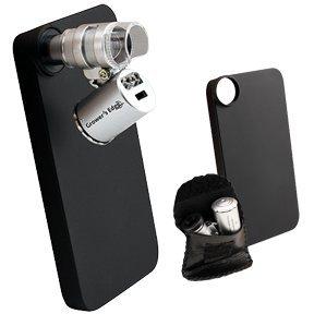 Growers Edge Iphone 5 Case W/ Led Pocket Microscope 60X (10/Cs)