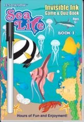 Invisible Ink: Sea Life Book 1