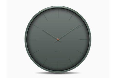 Tone35 Grey Index Wall Clock by LEFF amsterdam