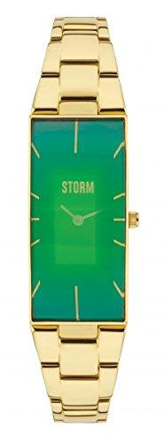 A collo lungo STORM da donna orologio oro/verde 47255/GN