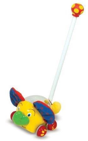 Melissa & Doug Push Along Elephant Toy - 1