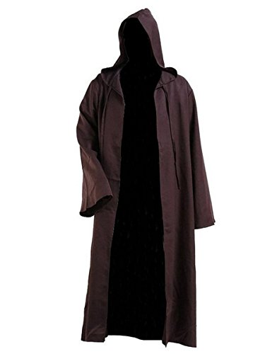 Anime Store Star Wars Only One Cloak Jedi Robe Adult Costume Brwon Cloak