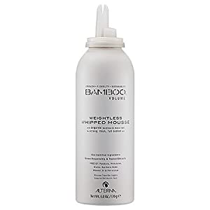 Alterna Bamboo Volume Weightless Whipped Mousse for Unisex, 6 Ounce