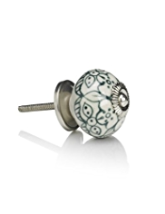 Painted Pattern Door Knob