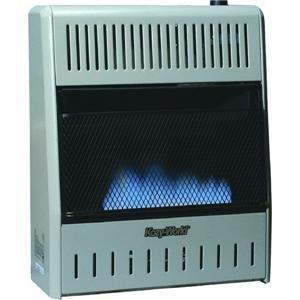Kozy World Gwd208 20,000-Btu Vent-Free Dual-Fuel Gas Wall Heater