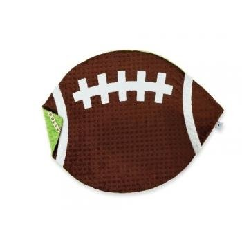 Mud Pie Football Blanket For Baby And Toddler front-572295