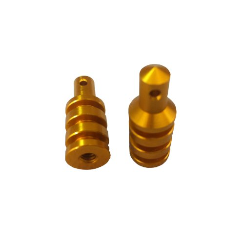 Alloy Body Mount Set for 1:10 RC Team Associated RC10 - Gold