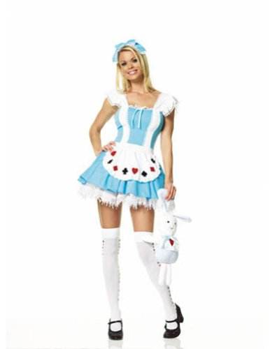 Alice Girl Costume Lg Halloween Costume - Adult Large