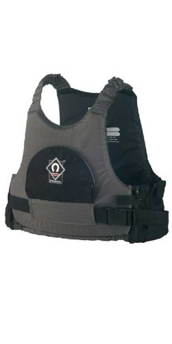 Crewsaver MAX 50N Buoyancy Aid - BLACK/GREY Sizes - Small / Medium