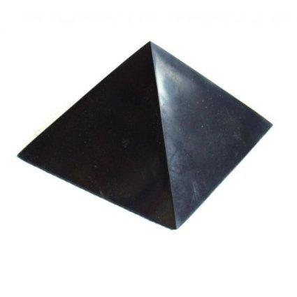 shungite-pyramid-unpolished-100x100mm