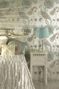 Statement Chakra Wallpaper - Duck Egg by New A-Brend