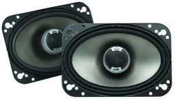 Polk Audio Db461 4-By-6-Inch Coaxial Speakers (Pair, Black)
