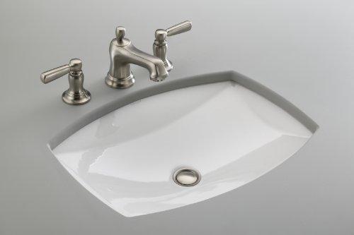 Kohler K 2382 0 Kelston Undercounter Bathroom Sink White
