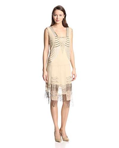 Anna Sui Women's Fringe Flapper Dress
