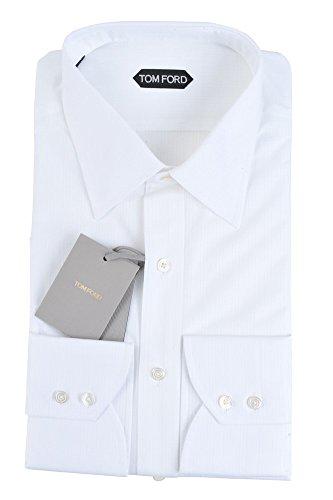 Tom Ford Italia Camicia d'affari Formale e business Polsino doppio con 2 bottoni Standard normale