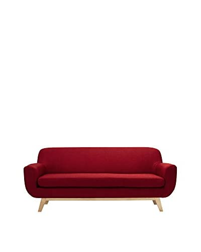 Only Deco Sofa Oslo 3 Seater rot