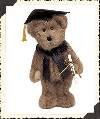 Boyds Plush Mr. Graduate Collectible Item #903032 - 1