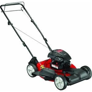 Yard Machines 12A-A04A000 20-Inch 148cc Briggs & Stratton 300 Series Mulch/Side Discharge Gas Powered Self Propelled Lawn Mower picture