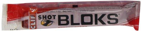 Clif Strawberry Shot Bloks 60 g (Pack of 9)