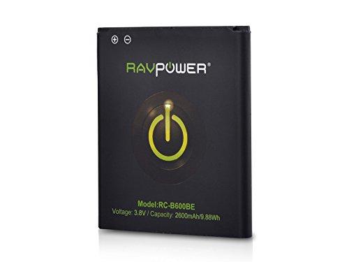 RAVPower-Batteria-2600mAh-di-ricambio-per-Samsung-Galaxy-S4-GT-i9500-GT-i9505-con-NFC