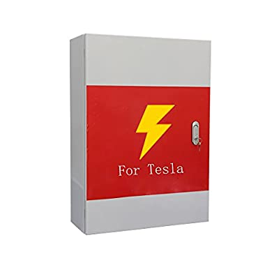 Topfit Customized Wall Connector Protective Mental Box for Tesla