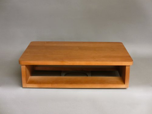 """TV and DVD Swivel Stand, Honey (20""""W x 13""""D x 5-1/2""""H)"""