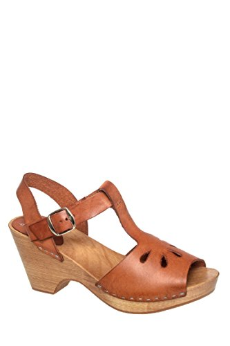 Mid Heel T-Strap Sandal
